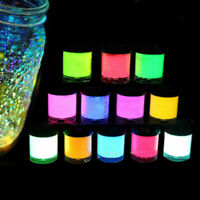 Acrylic Luminous Party DIY Bright Glow in the Dark Paint Pigment Graffiti B xc