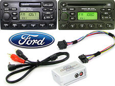 Ford Fiesta 1996-2003 AUX adapter lead 3.5mm jack in car iPod MP3 HTC CTVFOX001