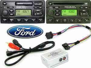 Ford Transit 1998-2004 AUX adapter lead 3.5mm jack input car iPod MP3 CTVFOX001