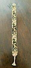 Needlepoint Bell Pull Vintage Needlepoint 1:12th Scale