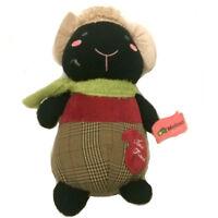 "11.8"" Adorable Cute Kids Black Dressed Sheep Stuffed Animal Plush Soft Toy Doll"