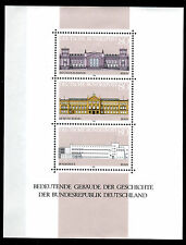 Block Bundesrepublik Deutschland Bund Nr: 20 ** 1986 Gebäude BR645