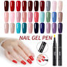 5ml LEMOOC UV Gel Polish Base Top Coat Nail Art Soak Off Gel  88 Colors