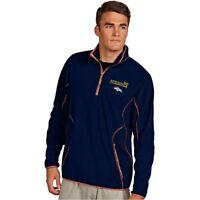 Antigua Men's Denver Broncos Super Bowl 50 1/4-Zip Microfleece Pullover Jacket