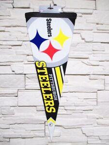 Pittsburgh Steelers Gagliardetto Feltro Gagliardetto 75 CM NFL Calcio