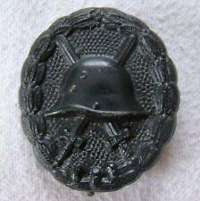 Verwundetenabzeichen 1918 schwarz - original + top - Art. 6352