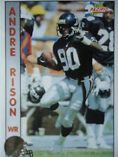 NFL 336 Andre Rison WR Wide Receiver Pacific 1992