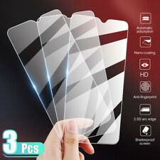 3Pcs Premium HD Clear Tempered Glass Film Screen Protector For Smart Cell Phones