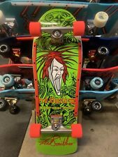 Beer City Fred Smith Iii Re-Issue Alva Graphic Custom Complete Skateboard Green