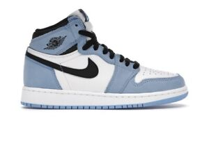 Air Jordan 1 Retro High University Blue GS Size 7Y 575441-134 *CONFIRMED ORDER*