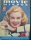 Vintage+%22MOVIE+MIRROR%22+Magazine+July+1937+Jean+Harlow%2C+Cover%2C+Good