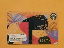 Starbucks Happy Birthday Gift Card Reloadable Empty RARE