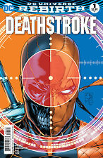 DEATHSTROKE #1, VARIANT, New, First print, DC REBIRTH (2016)