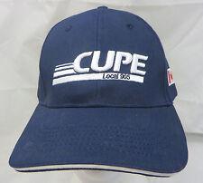 CUPE local 905 Canada  baseball cap hat adjustable v union