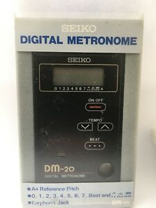 SEIKO DIGITAL METRONOME-DM-20-FULL INSTRUCTIONS