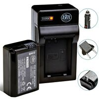 BM NP-FW50 Battery & Charger for Sony A3000, A5000, A5100, A6000, A6300, A6500