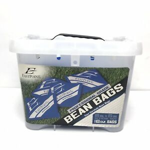 East Point Professional Blue Bean Bags Toss Cornhole (One 4 Pack)