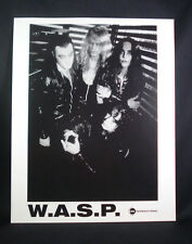 W.A.S.P. (unknown date) Publicity/Press Photo, ENTIRE BAND-FREE SHIPPING-