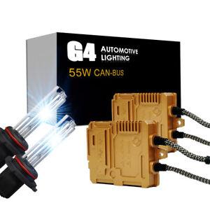 G4 AUTOMOTIVE 9006 55W CANBUS HID Headlight Kit Premium Golden Ballast All Color