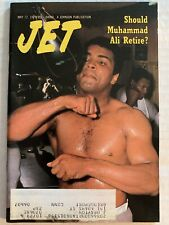 Vintage Jet Magazine: May 17, 1979: Should Muhammad Ali Retire?