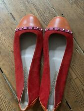 Russel And Bromley Studded Flats Size 4.5 37.5