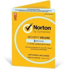 Norton Deluxe Internet Security (1 User, 1 Year)