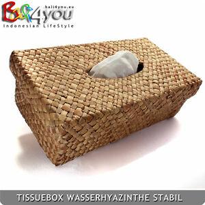 TOP Bali Wasserhyazinthe Tissuebox Kosmetiktücherbox Kosmetiktuch