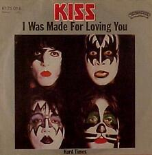 "Kiss ""I Was Made for Loving You"" 7"" NM German Import"