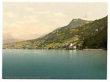 Chillon Castle Ii Geneva Lake A4 Photo Print