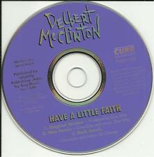 DELBERT McCLINTON Have a Little Faith w/ 2REMIXES DJ PROMO CD single Don was not