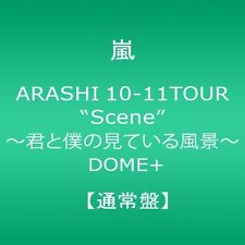 New ARASHI 10-11 TOUR Scene DOME+ Regular Edition 2 DVD Japan F/S JABA-5087