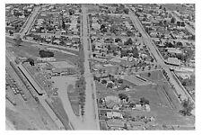 MARYBOROUGH Victoria Town and Rail Aerial 1926 modern Digital photo Postcard
