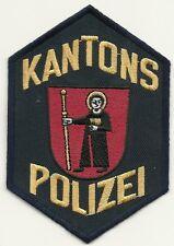 SCHWEIZ:  Kantonspolizei  * GLARUS *  Police  Polizei Abzeichen Patch Aufnäher