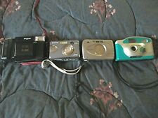 4-Vintage Camera's, Minolta, Fugifilm,Nintendo, Argus