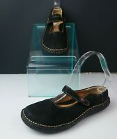 Borndal Jane Shoes Size 7.5 Black Leather