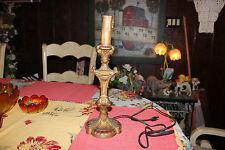 Vintage Victorian Gothic Style Candelabra Candlestick Lamp-#1-Raised Designs