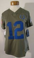 Nike NFL Indianapolis Colts Andrew Luck #12 Salute Women's Jersey LRG 882747 235