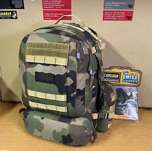 GENUINE FRENCH ARMY CAMELBAK BFM 1000D CCE CAMO NEW 102oz / 3.1L BLADDER VGC !!!