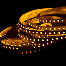 ABI 600 LED Double Density Light Strip, Orange Yellow, 5M, SMD3528, 12V
