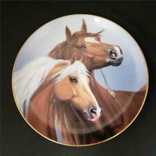 = Danbury Mint Sweethearts By Derk Hansen Plate A Heritage Of Horses H1426 1993