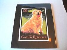Golden Retriever by Laura Wilder Dog Vintage Print 11 X 14