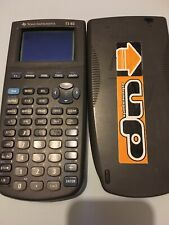 ❤️ Calculatrice TI 83 Avec Notice Fonctionne Parfaitement pile à changer