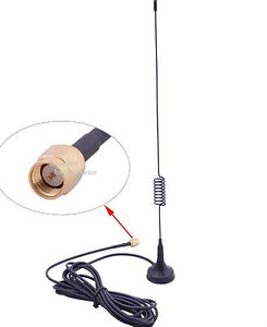 868 MHz Antenne mit Magnetfuß f.Gardena Smart Gateway  SMA, 3m Kabel 824÷960MHz