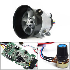 12V Car Electric turbine power Turbo charger Tan Boost Air Intake Fan + Control