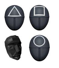 Masque  Squid Game accessoire déguisement série Netflix MEILLEUR PRIX
