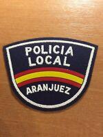 SPAIN VALENCIA PATCH POLICE POLICIA ARANJUEZ - ORIGINAL!