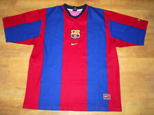 Nike Barcelona 1998/2000 home shirt (Size XL)