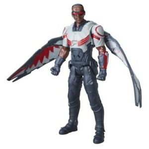 "Marvel Civil War Titan Hero Series 12"" Falcon Electronic Talking Action Figure"