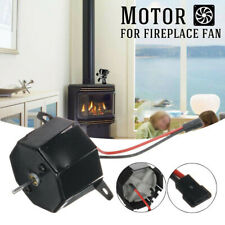 Fuel Saving Replacement Motor For Fireplace Wood Log Heat Powered Stove Eco Fan