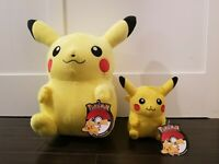 Pokemon Pikachu - Official Licensed Plush Stuffed Toy - Authentic - NWT